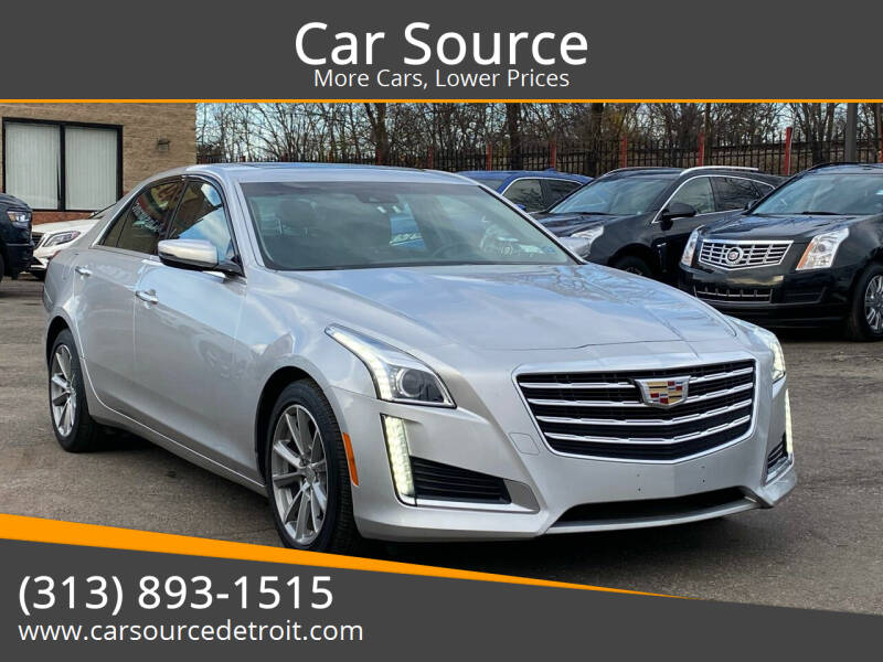 2019 Cadillac CTS for sale at Car Source in Detroit MI