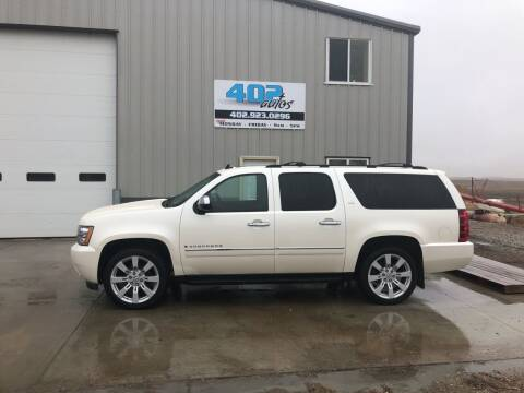 2009 Chevrolet Suburban for sale at 402 Autos in Lindsay NE