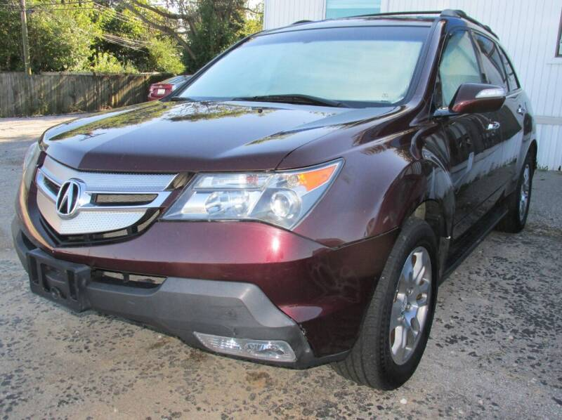 2008 Acura MDX for sale at Express Auto Sales in Lexington KY