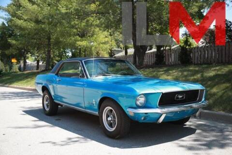 1968 Ford Mustang for sale at INDY LUXURY MOTORSPORTS in Fishers IN