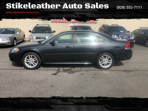 2013 Chevrolet Impala for sale at Stikeleather Auto Sales in Taylorsville NC