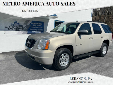 2007 GMC Yukon for sale at METRO AMERICA AUTO SALES of Lebanon in Lebanon PA