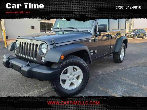 2018 Jeep Wrangler JK Unlimited for sale at Car Time in Denver CO