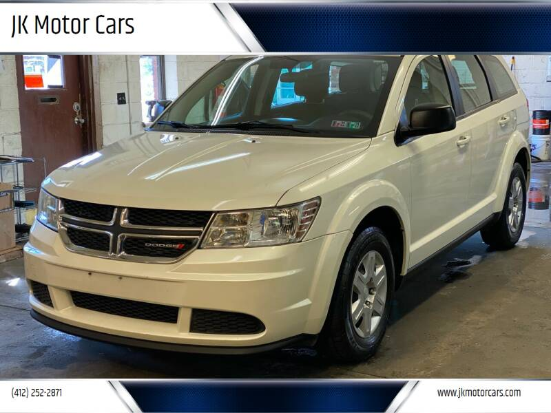 2012 Dodge Journey for sale at JK Motor Cars in Pittsburgh PA