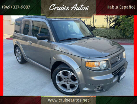 2008 Honda Element for sale at Cruise Autos in Corona CA