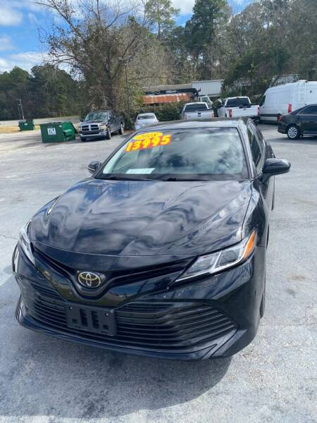 2018 Toyota Camry for sale at D & D Auto Sales in Valdosta GA