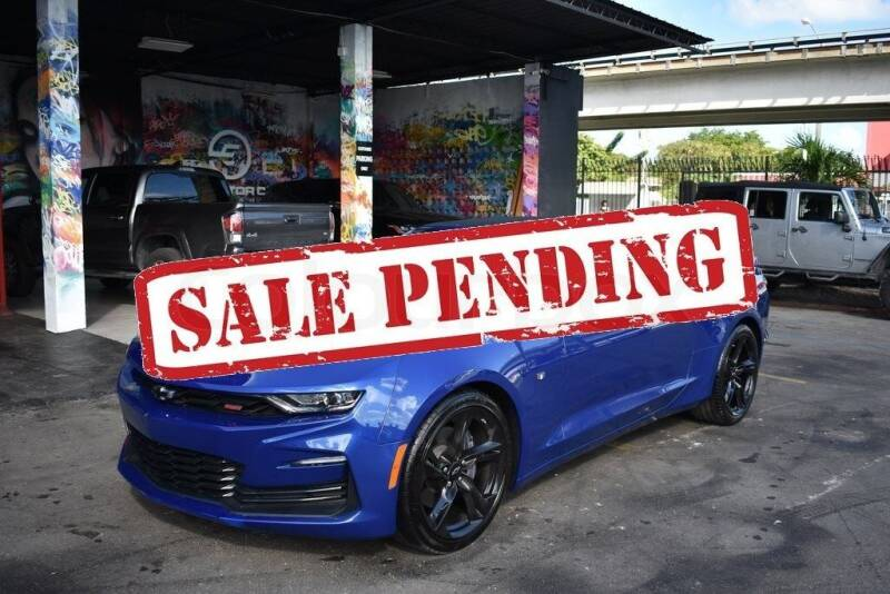 2020 Chevrolet Camaro for sale at STS Automotive - Miami, FL in Miami FL