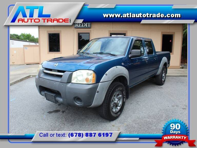 2002 Nissan Frontier for sale at ATL Auto Trade, Inc. in Stone Mountain GA