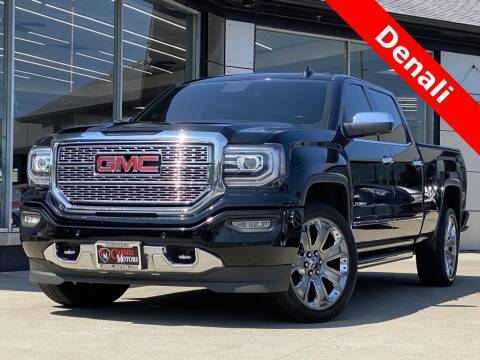 2017 GMC Sierra 1500 for sale at Carmel Motors in Indianapolis IN