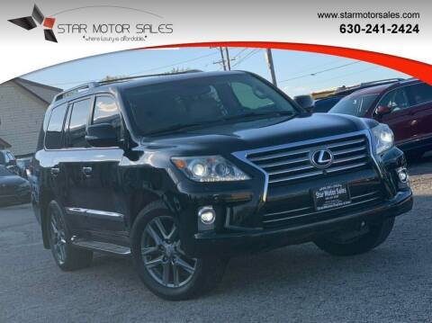 2014 Lexus LX 570 for sale at Star Motor Sales in Downers Grove IL