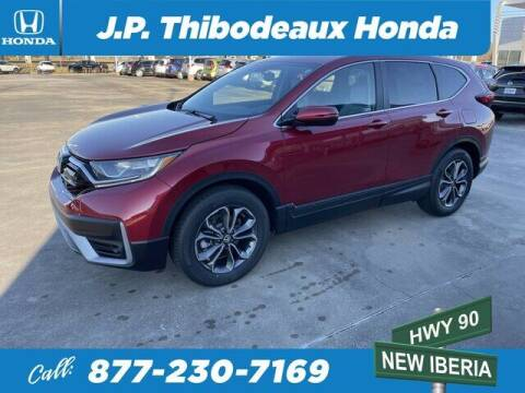 2021 Honda CR-V for sale at J P Thibodeaux Used Cars in New Iberia LA