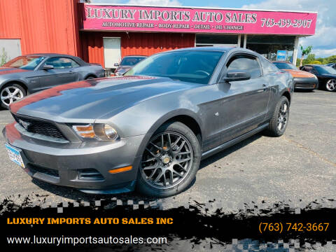 2010 Ford Mustang for sale at LUXURY IMPORTS AUTO SALES INC in North Branch MN