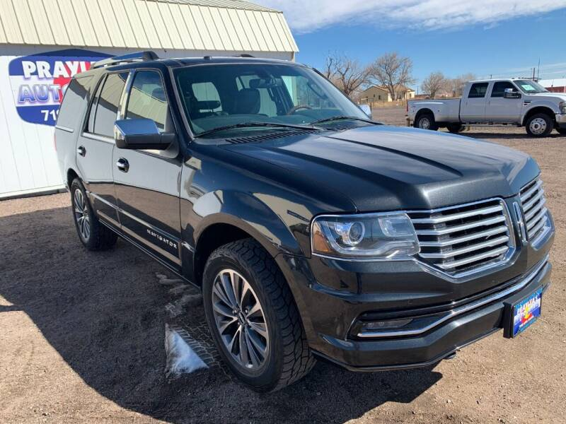 2015 Lincoln Navigator for sale at Praylea's Auto Sales in Peyton CO