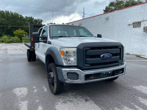 2015 Ford F-450 Super Duty for sale at LUXURY AUTO MALL in Tampa FL