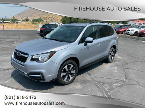 2018 Subaru Forester for sale at Firehouse Auto Sales in Springville UT