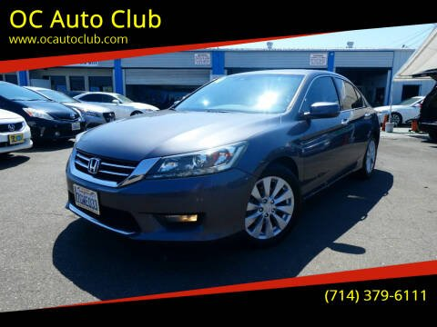 2014 Honda Accord for sale at OC Auto Club in Midway City CA