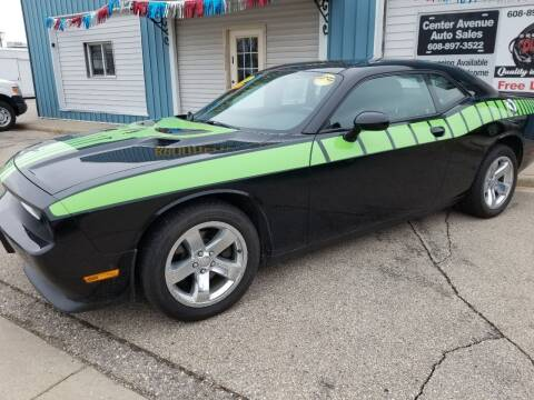 2014 Dodge Challenger for sale at CENTER AVENUE AUTO SALES in Brodhead WI