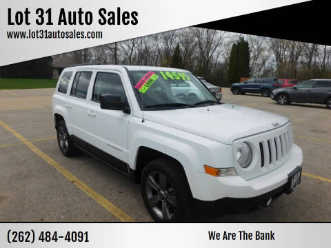 2015 Jeep Patriot for sale at Lot 31 Auto Sales in Kenosha WI