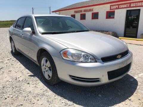 2007 Chevrolet Impala for sale at Sarpy County Motors in Springfield NE