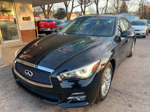 2014 Infiniti Q50 for sale at New Wheels in Glendale Heights IL