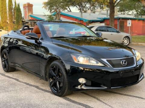 2012 Lexus IS 250C for sale at AWESOME CARS LLC in Austin TX