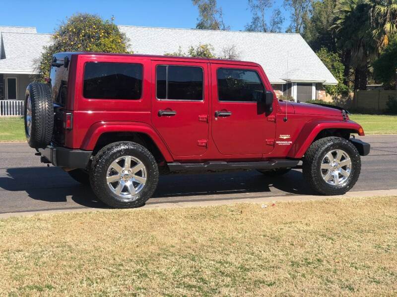 2012 Jeep Wrangler Unlimited for sale at Scottsdale Collector Car Sales in Tempe AZ