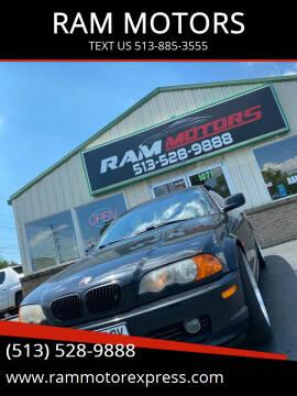 2002 BMW 3 Series for sale at RAM MOTORS in Cincinnati OH