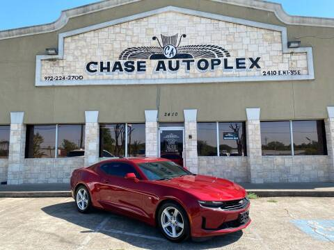 2019 Chevrolet Camaro for sale at CHASE AUTOPLEX in Lancaster TX