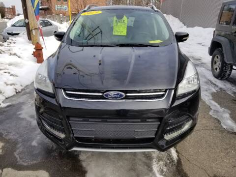 2014 Ford Escape for sale at Howe's Auto Sales in Lowell MA