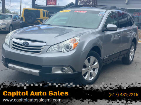 2011 Subaru Outback for sale at Capitol Auto Sales in Lansing MI