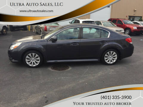 2012 Subaru Legacy for sale at Ultra Auto Sales, LLC in Cumberland RI