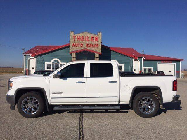 2014 GMC Sierra 1500 for sale at THEILEN AUTO SALES in Clear Lake IA