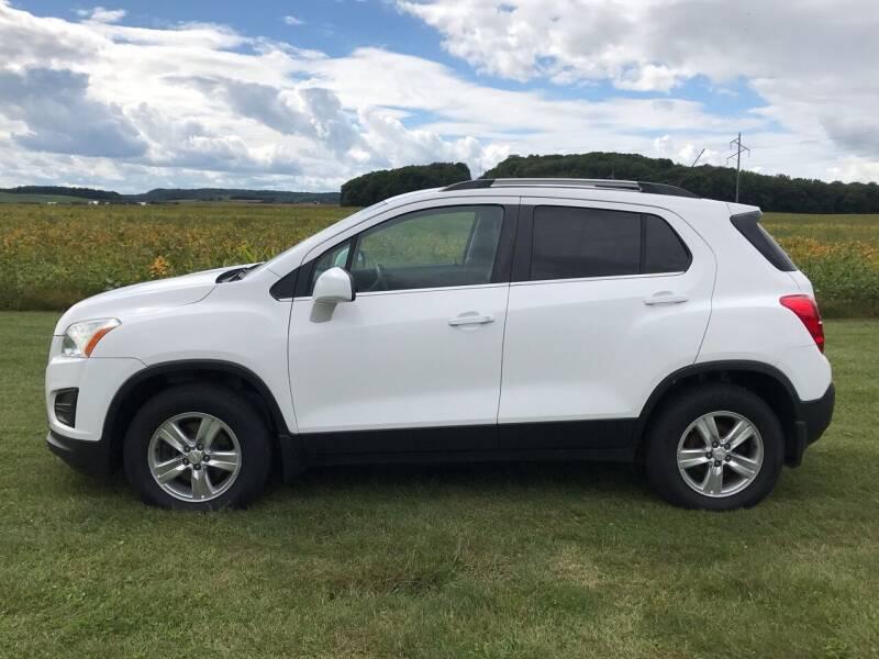 2015 Chevrolet Trax for sale at BLAESER AUTO LLC in Chippewa Falls WI