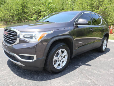 2018 GMC Acadia for sale at RUSTY WALLACE KIA OF KNOXVILLE in Knoxville TN