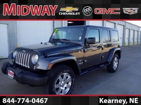 2017 Jeep Wrangler Unlimited for sale at Heath Phillips in Kearney NE