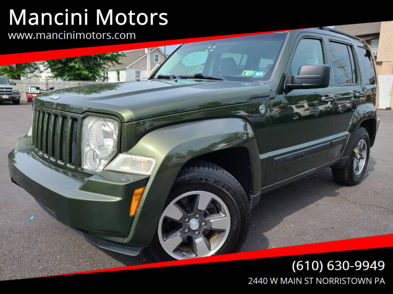 2008 Jeep Liberty for sale at Mancini Motors in Norristown PA