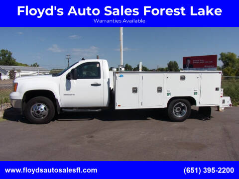 2011 GMC Sierra 3500HD CC for sale at Floyd's Auto Sales Forest Lake in Forest Lake MN