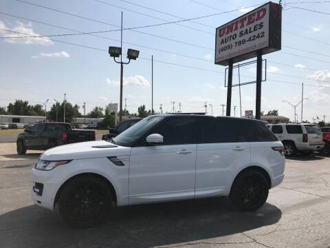 2014 Land Rover Range Rover Sport for sale at United Auto Sales in Oklahoma City OK
