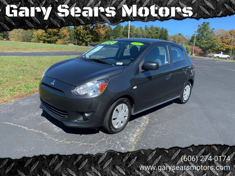 2015 Mitsubishi Mirage for sale at Gary Sears Motors in Somerset KY