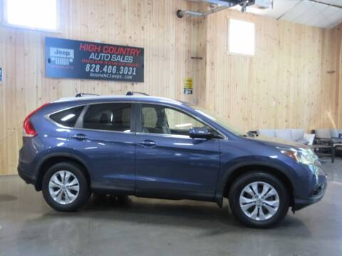 2013 Honda CR-V for sale at Boone NC Jeeps-High Country Auto Sales in Boone NC