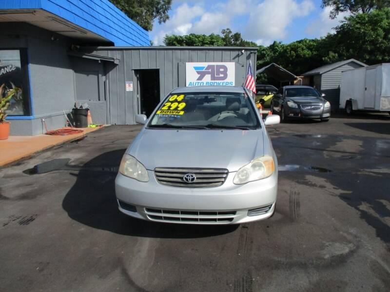 2004 Toyota Corolla for sale at AUTO BROKERS OF ORLANDO in Orlando FL