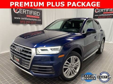 2018 Audi Q5 for sale at CERTIFIED AUTOPLEX INC in Dallas TX
