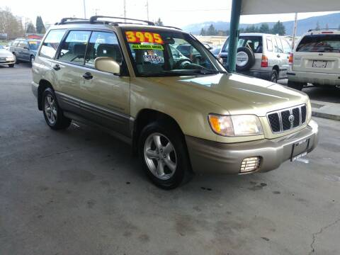 2002 Subaru Forester for sale at Low Auto Sales in Sedro Woolley WA