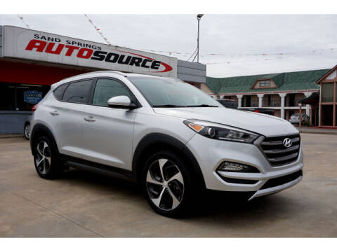2016 Hyundai Tucson for sale at Sand Springs Auto Source in Sand Springs OK