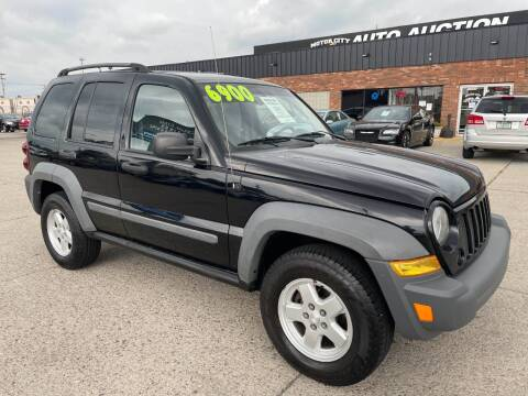 2006 Jeep Liberty for sale at Motor City Auto Auction in Fraser MI