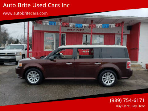 2009 Ford Flex for sale at Auto Brite Used Cars Inc in Saginaw MI