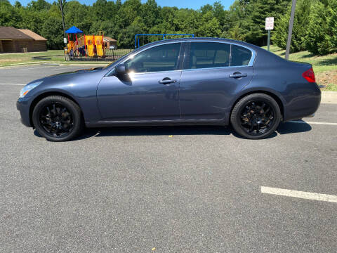 2007 Infiniti G35 for sale at Superior Wholesalers Inc. in Fredericksburg VA
