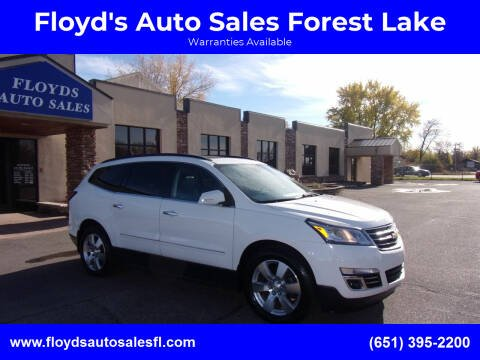 2014 Chevrolet Traverse for sale at Floyd's Auto Sales Forest Lake in Forest Lake MN