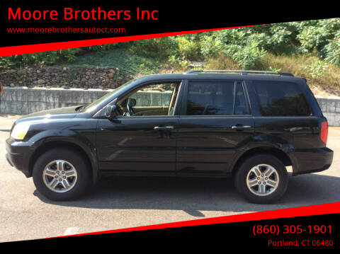 2005 Honda Pilot for sale at Moore Brothers Inc in Portland CT