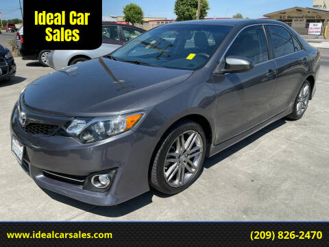 2014 Toyota Camry for sale at Ideal Car Sales in Los Banos CA